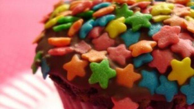 Muffins com Gotas de Chocolate