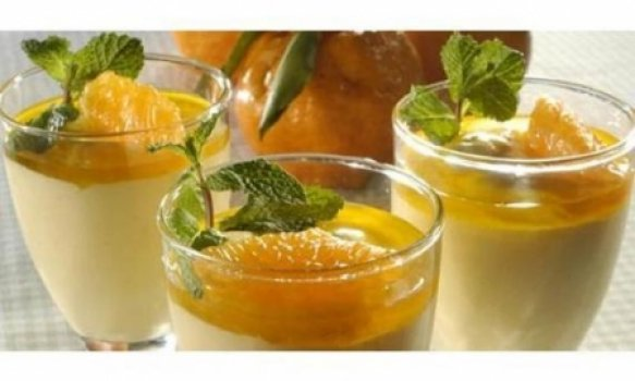Mousse de tangerina