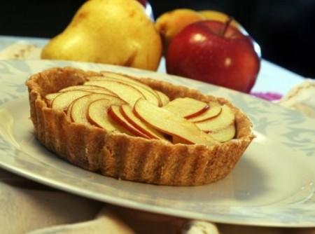 Torta de maçã e pêra