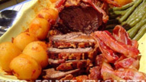 alcatra com bacon