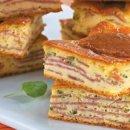 Torta de Mandioquinha com Salaminho