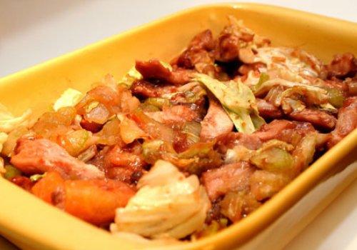 Carne de Porco Oriental