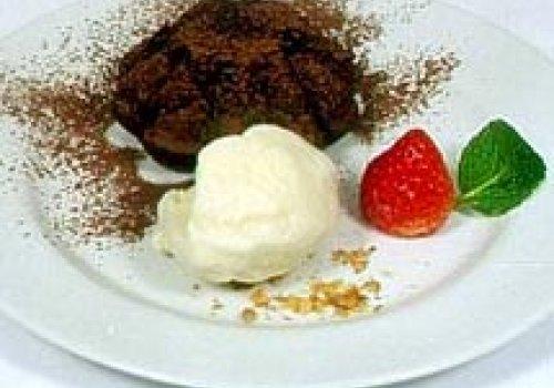 Torta de Chocolate com Sorvete