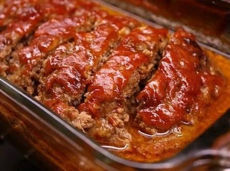 Bolo de Carne Moída com Creme de Cebola   Daniel Cardoso