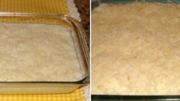 Cuscuz branco de tapioca