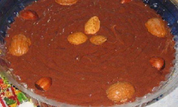 Mouse de Chocolate com Nozes