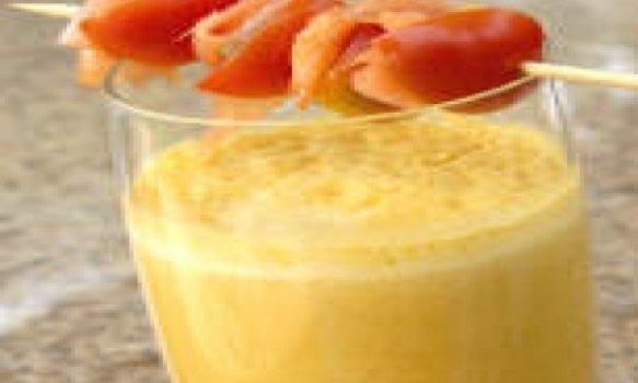 Lassi de damasco ao licor de laranja