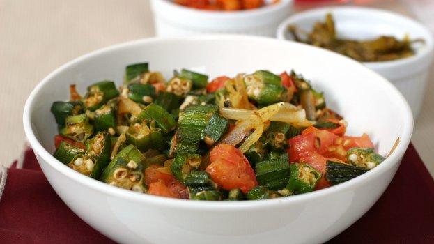 Salada de Quiabo
