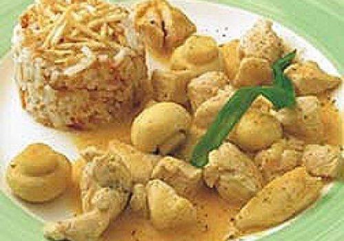 strogonoff de frango com coco