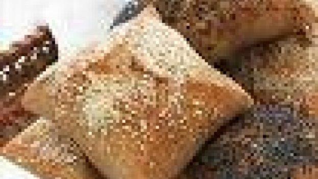 Pastéis de Soja, Algas e Passas