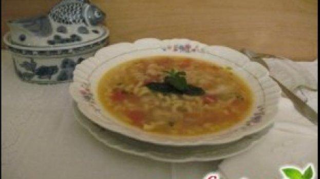 Sopa de peixe gostosa