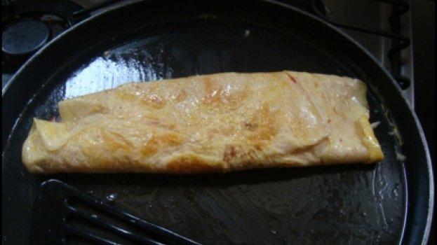 Omelete de Microondas