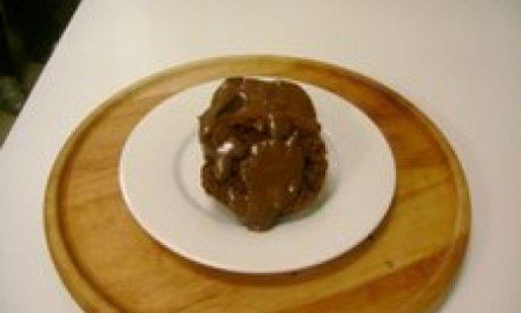 Bolo de Nescau com Chocolate Amargo