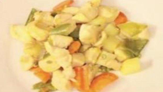 Frango Simples com Legumes