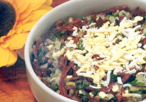 Salada de Carne-Seca