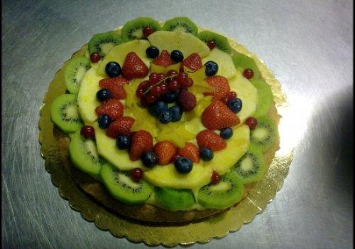 Crostata di Frutta Fresca & Crema