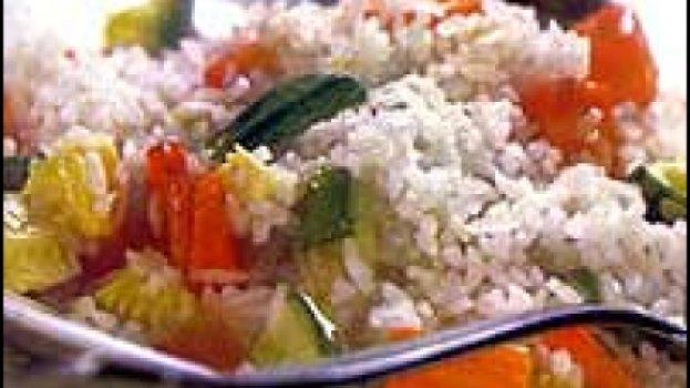 Arroz com legumes