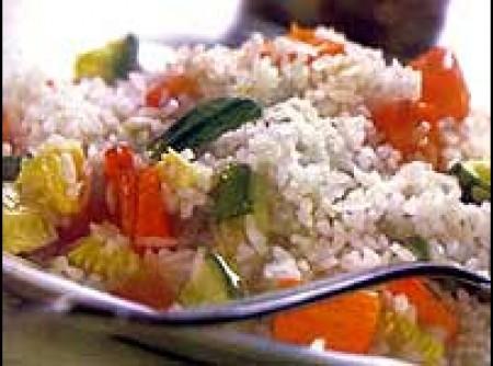 arroz com legumes   Bebeti