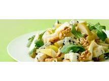 Salada de Folhas, Queijo Roquefort e Pera