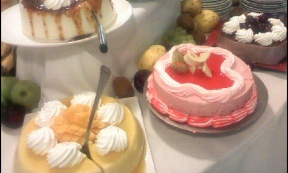 Torta mousse de morangos