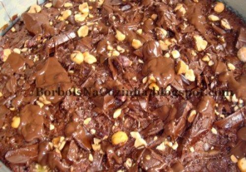 Brownie de Nutella com Banana