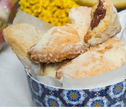 Pastel de Leite Ninho com Nutella