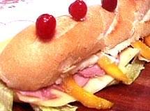 Sanduíche de Metro à Califórnia