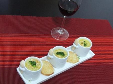 O inverno chegou! Experimente o creme de mandioquinha com brócolis da Abima