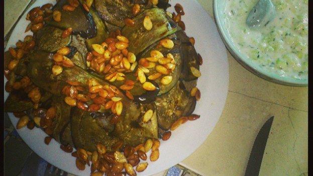 Kabsa (arroz Árabe com Carne Moída Frita Temperada com Cravo)