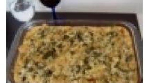 Filé de frango com couve flor ao forno
