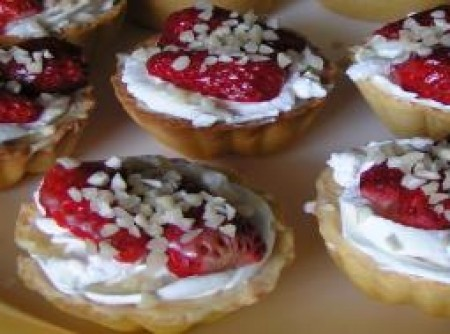 Tortinhas de morango
