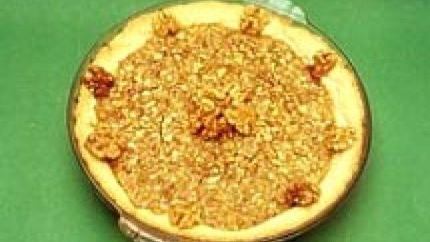 Torta de Nozes Pecã (Pecan Pie)