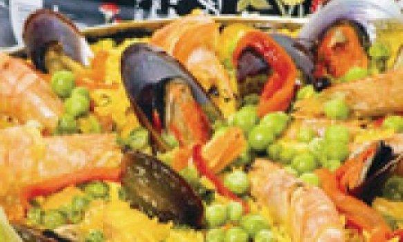 Paella à Marinheira do Oásis