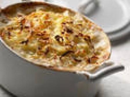 Batatas Gratinadas ao Leite | Márcia Esteves
