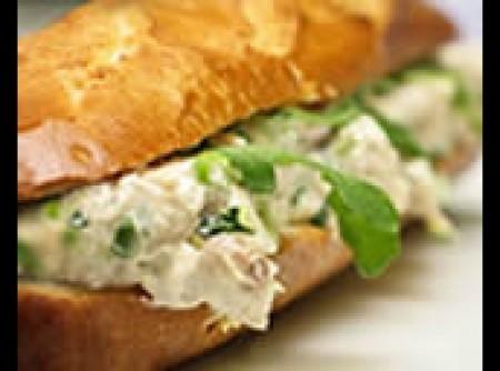 Sanduíche de atum light