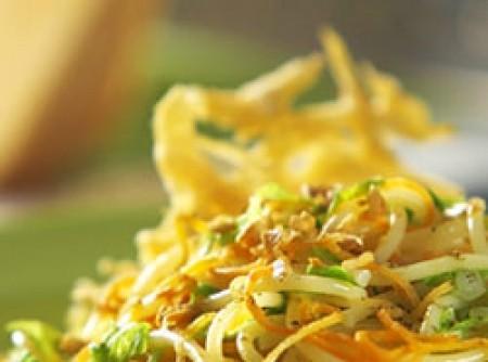 Espaguete com legumes | CyberCook