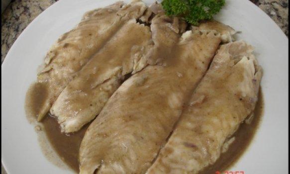 Filets de Barbue Dugleré