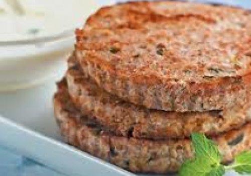 Hambúrguer de trigo com ricota