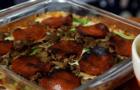 Pizza Dip   Sanduba Insano