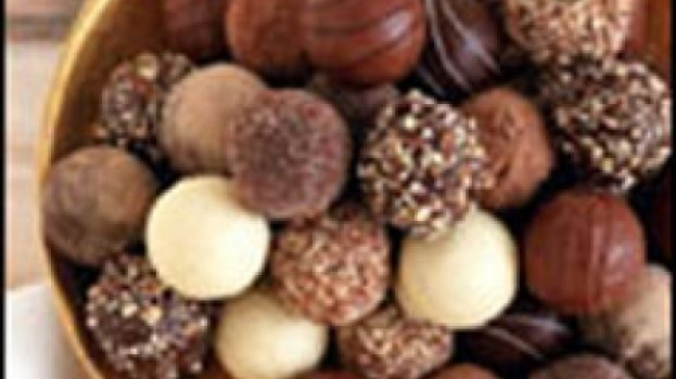 Trufas de Chocolate com Conhaque