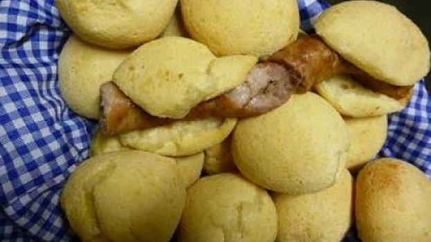 Pão de Queijo com Linguiça