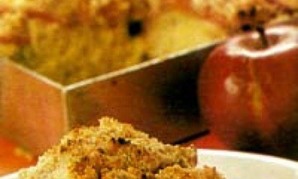 Streuselkuchen (cuca de maçã)