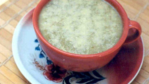 Sopa de Almeirão