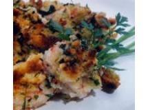 Camarões com Crosta de Salsinha e Alho