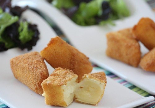 Queijo Brie empanado