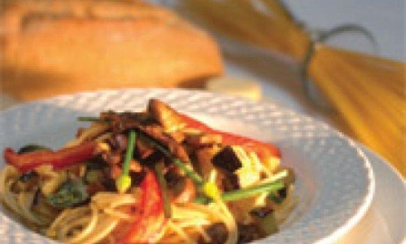 Spaghetti Al Portobello