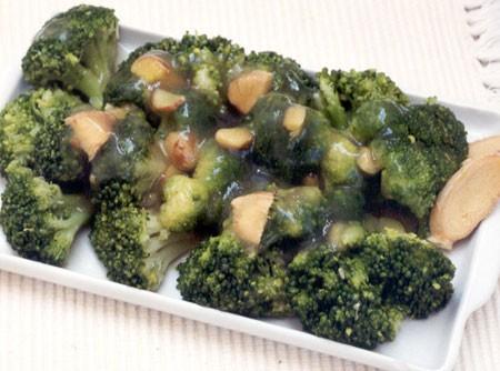 Brócolis com Molho de Soja