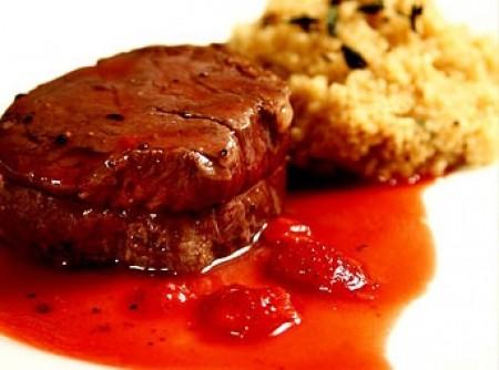 Molho de Morango para Carnes Vermelhas