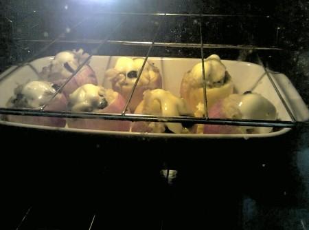 Maçãs ao forno