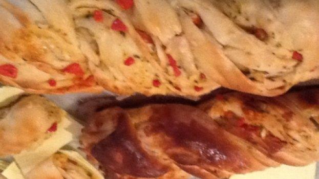 Pão Pizza Folhado